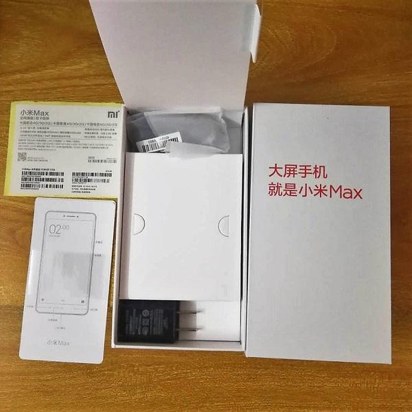 小米max手机包装盒子原装正品2A充电器头数据线全套配件标签串码