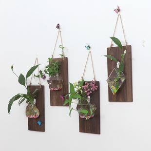 绿萝壁挂水培花瓶 创意家居客厅