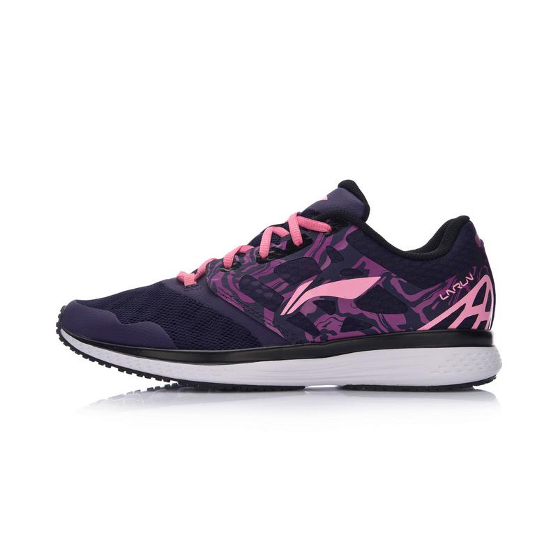 李宁春夏季女子透气轻便舒适时尚潮流跑步鞋运动鞋ARHM032