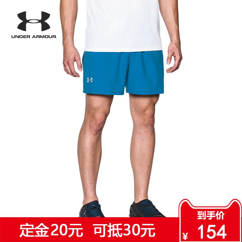 Under Armour 安德玛 UA男子 Launch SW 5英寸跑步短裤-1289312
