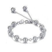 Email Korean bracelet Korea female pierced love exquisite ball bracelet fashion jewelry