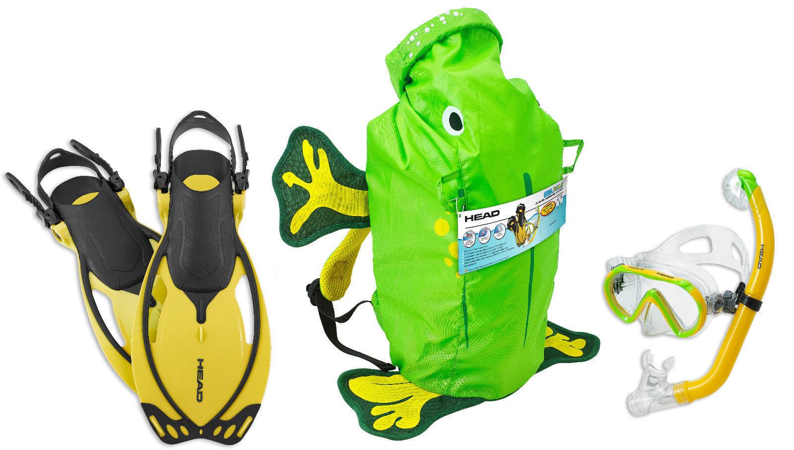 代购 潜水脚蹼 海德小海洋儿童 面镜 潜水脚蹼套装 潜水绿色青蛙