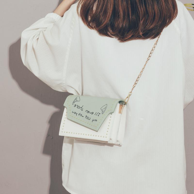 今年流行包包女2020春款小清新文艺学生链条小方包ins百搭斜挎包