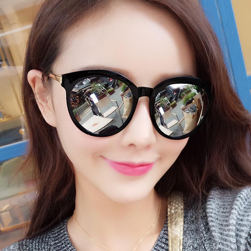2019gm新款墨镜女韩版潮网红款时尚街怕ins圆脸防紫外线太阳眼镜