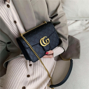 Net red high sense ladies small bag 2019 new chain bag shoulder messenger bag wild fashion godess bag