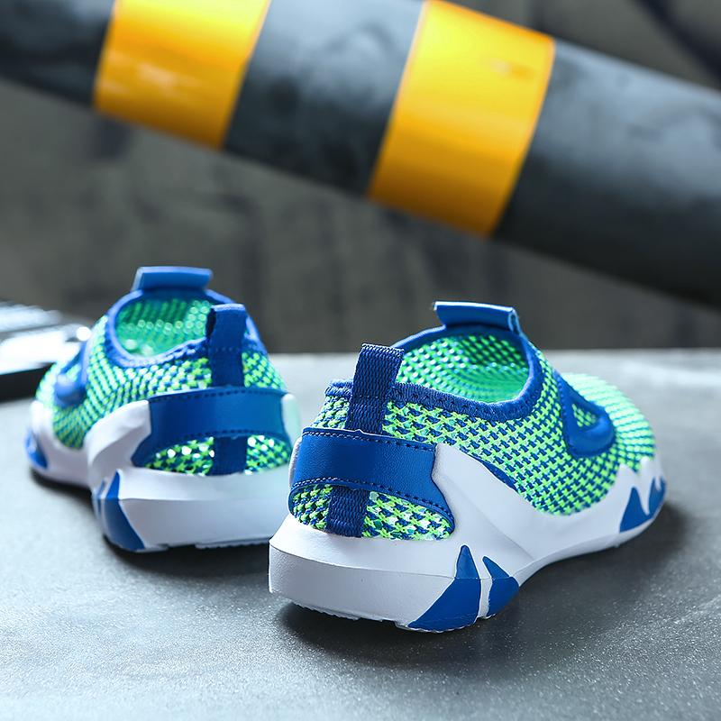 彼得潘男童鞋子2020夏季小孩透气网鞋学生镂空休闲鞋儿童运动鞋潮