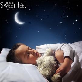 儿童防螨枕小孩宝宝幼儿园枕芯婴童四季枕学生加长枕头1-3-6卡通