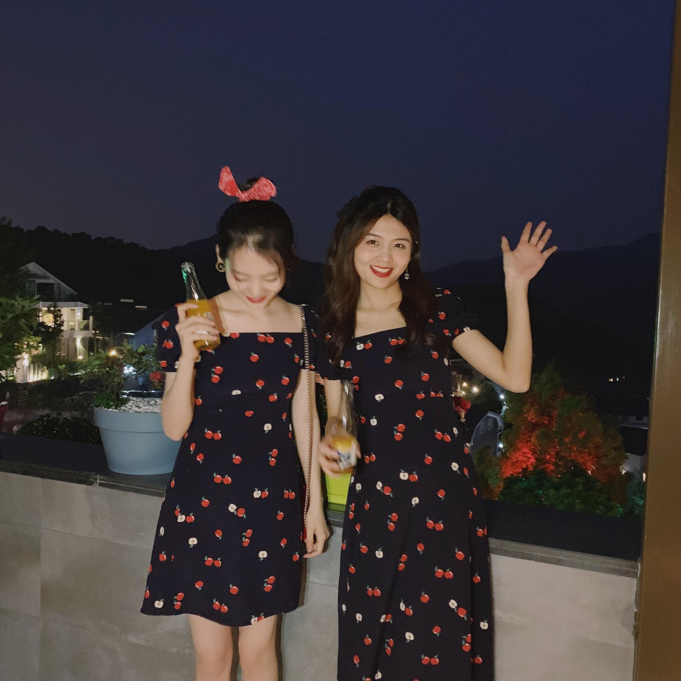 方领很仙的法国小众裙子连衣裙