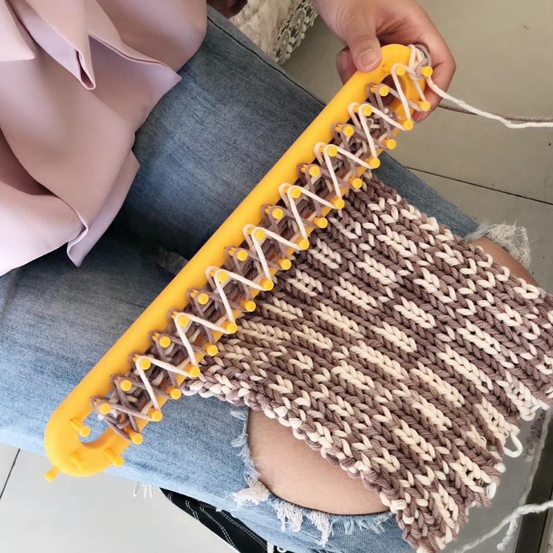 围巾帽子编织神器 毛线线手工diy编织器毛衣懒人工具零基础送教程