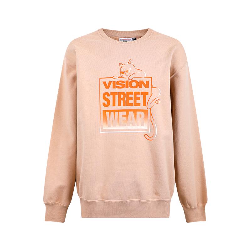 VISION STREET WEAR银泰专柜2020秋季新品男女同款卫衣V203NB3043