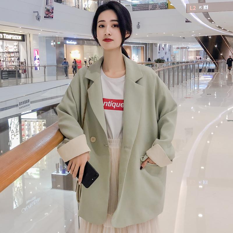 春季小西装外套女韩版英伦风网红西服女士休闲上衣2020新款春秋装