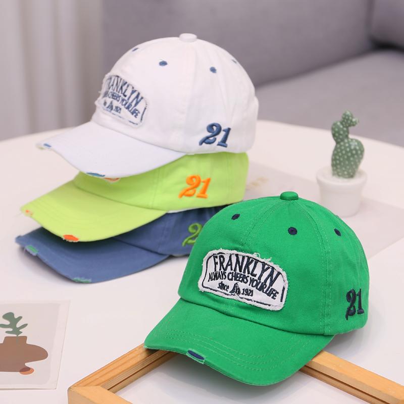 宝宝帽子春秋夏季薄款男童女童韩版棒球帽儿童遮阳帽防晒鸭舌帽潮