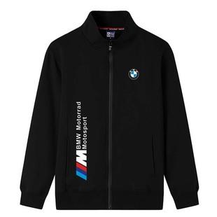 宝马5系装饰用品尾标工服卫衣男装外套加绒保暖休闲宽松大码外套