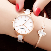 Lao Shidun genuine ceramic female watch different kind of ladies fashion trend watch female 2018 new waterproof watch