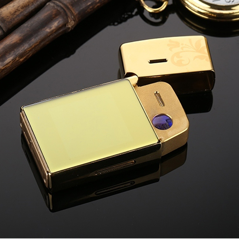 Smart lighter mobile phone usb charging metal touch screen for Home goods mobile