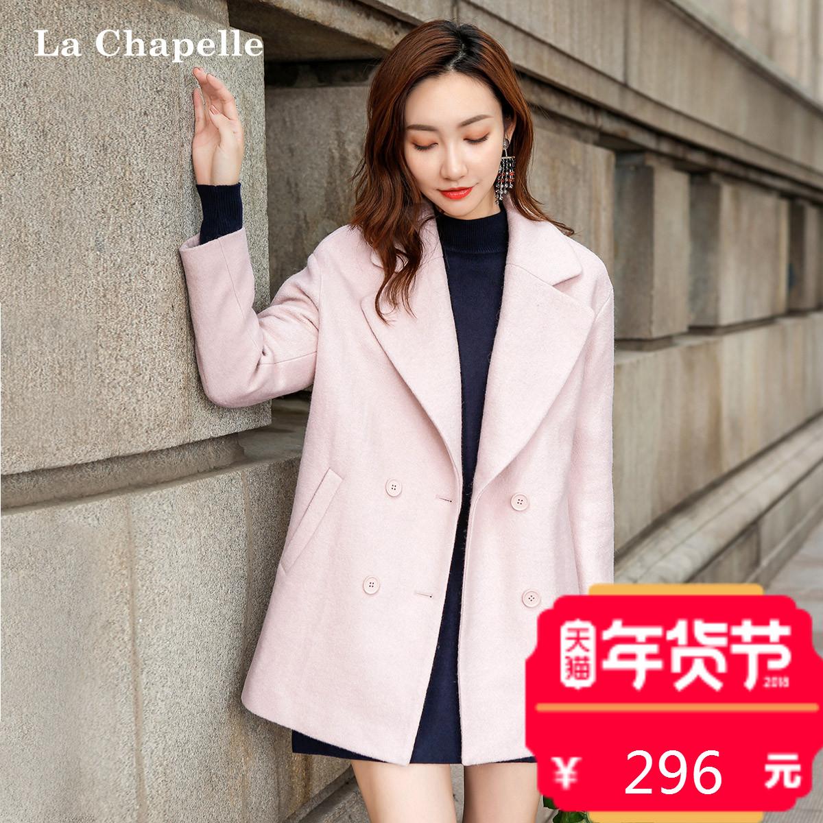 毛呢大衣外套中长款小个子女2017秋冬季新款韩版宽松显瘦长袖外衣