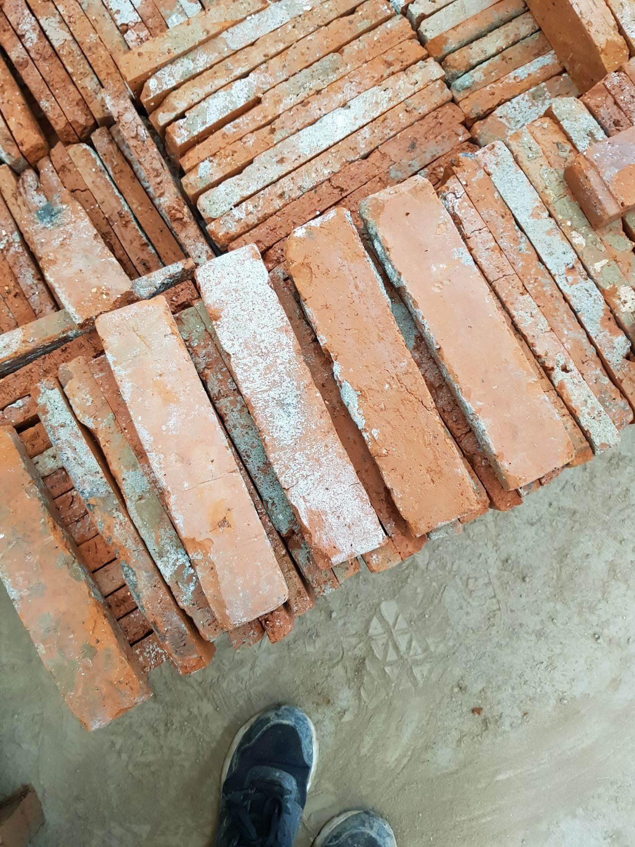 老砖101老红砖切片旧青砖小红砖片外墙砖文化红砖复古红砖
