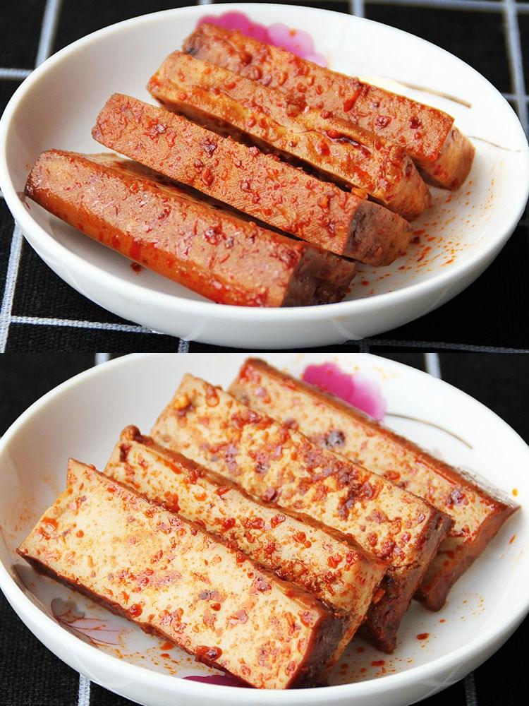 永寿诗四川特产五香豆干小零食麻辣香菇手磨香辣泡椒散装豆腐干
