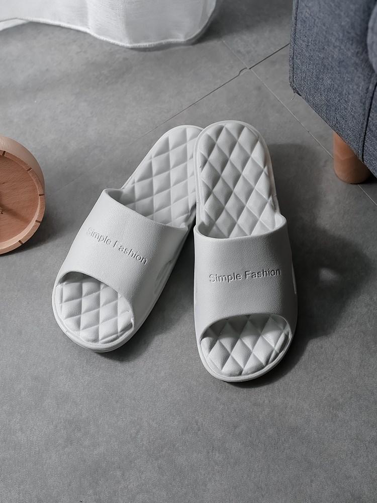 拖鞋男士家用夏室内防滑浴室居家居塑料软底2019新款凉拖鞋男夏天