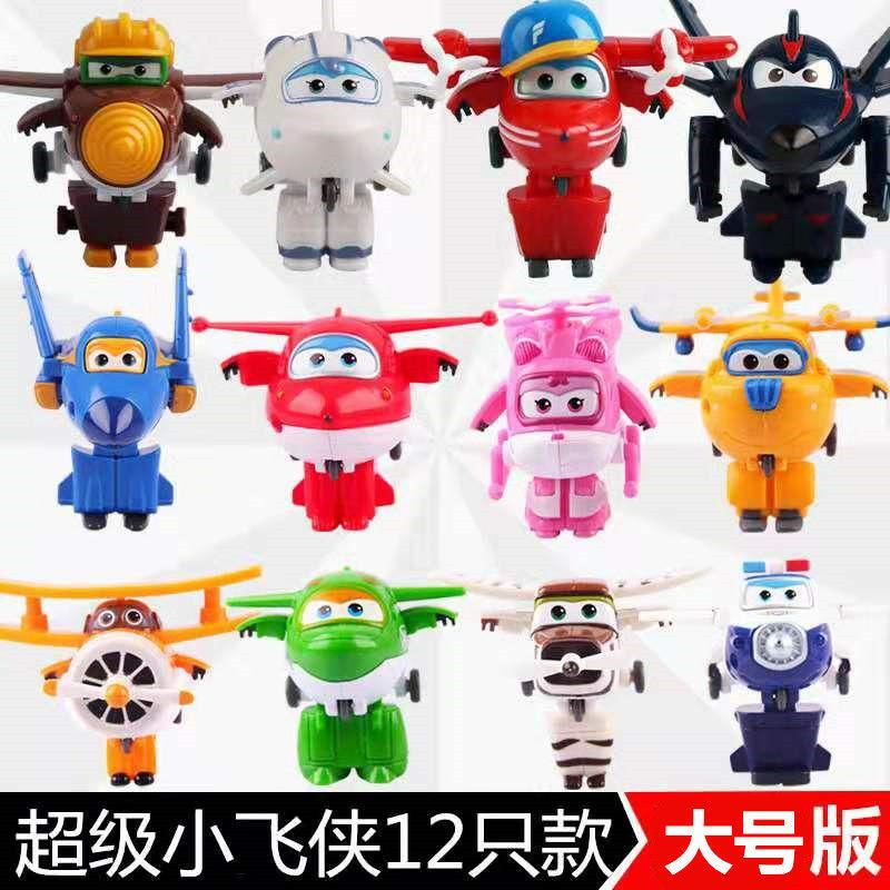 超级飞侠玩具套装全套酷飞多多酷雷小爱酷飞大号变形飞侠玩具