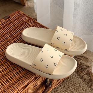 女夏情侣居家用洗澡防滑软底凉拖鞋