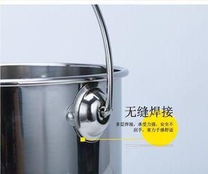 油桶不绣钢大容量家居储水小号m提桶不锈钢水桶便携式特大大号手