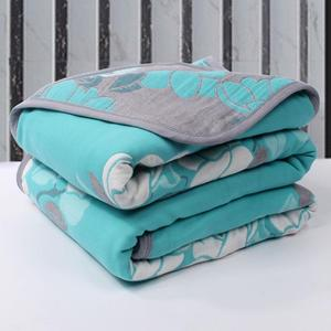 6-layer gauze blanket towel quilt thickened single double bed can be shopped can not cover hair