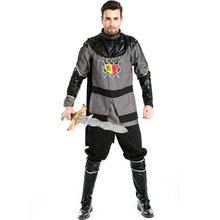 Warrior Costumes Greek Emperor's Role-playing Costume Pirate's Costume Halloween Men's Gladiator's Costume