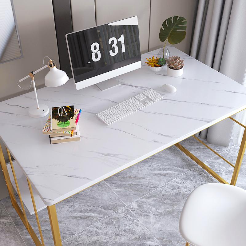电脑桌书桌家用儿童小桌子出租屋铁艺小户型卧室简易办公桌学习桌