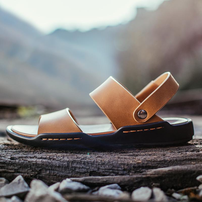 清仓 男凉鞋男士凉鞋男鞋夏季皮凉鞋男真皮休闲鞋拖鞋沙滩鞋潮