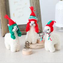 羊驼车载玩偶娃娃摆件包包挂件装饰节日礼物包邮Warmpaca秘鲁