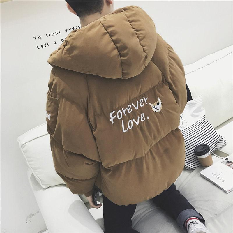 面板服男学生韩版棉衣冬季潮流宽松面包服加厚棉服外套青少年棉袄