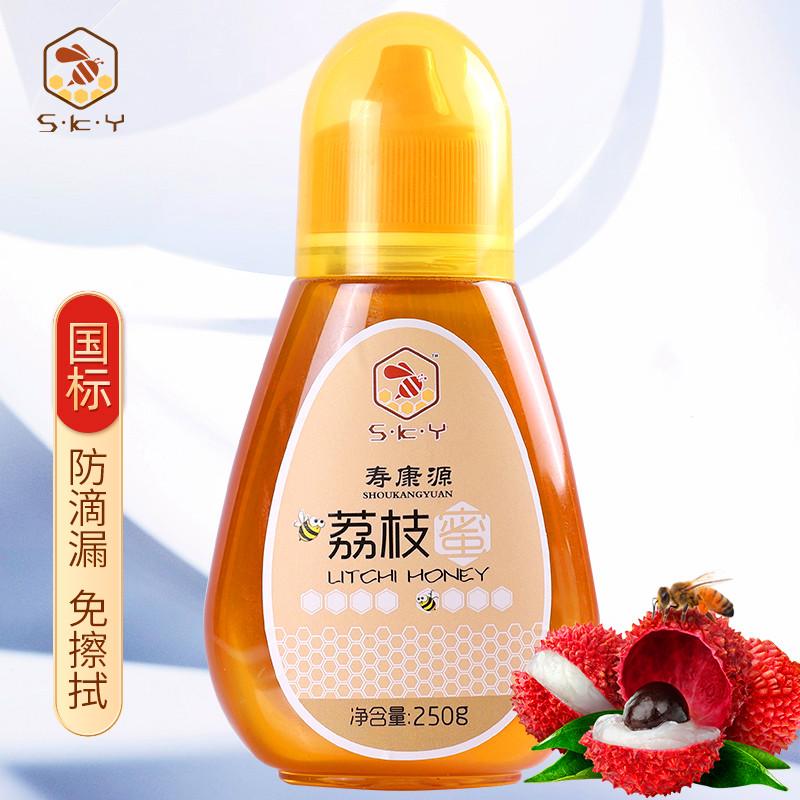寿康源土蜂蜜农家自产野生荔枝蜜无添加正宗便携蜂蜜纯正天然蜂蜜