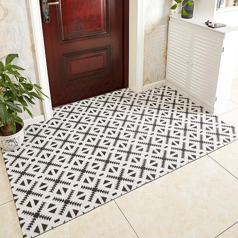 加厚入户门垫地垫丝圈脚垫进门口玄关门厅防滑垫地毯定制可剪裁