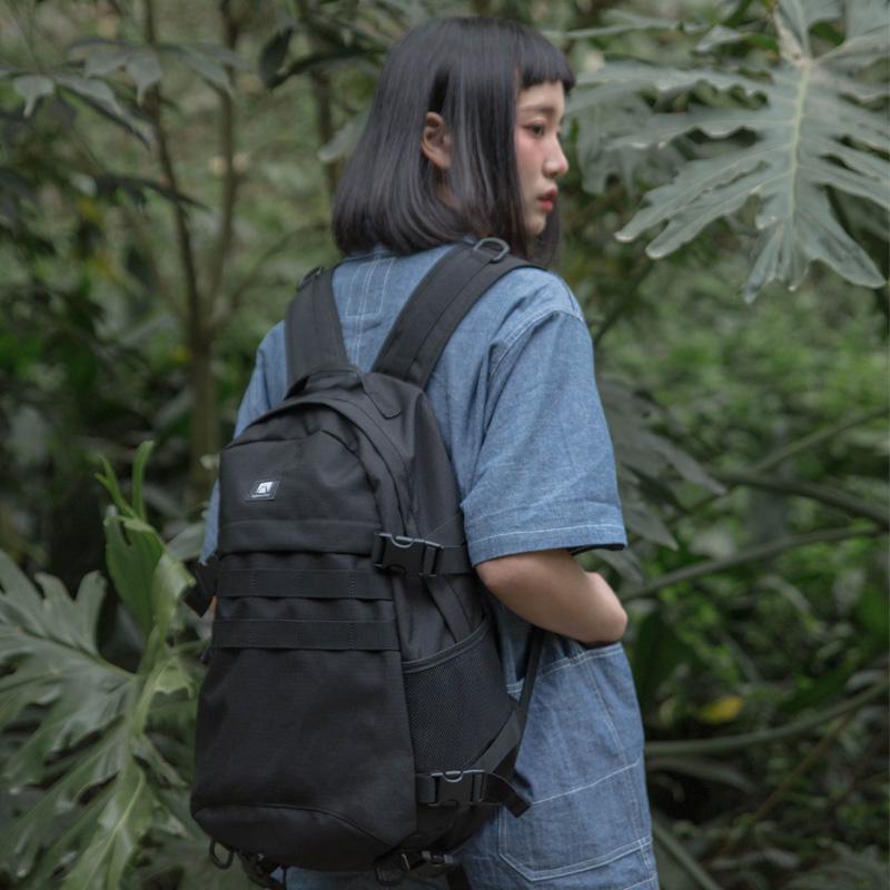 2019新款大学生高中初中生书包女韩版大容量旅行背包双肩包男潮牌