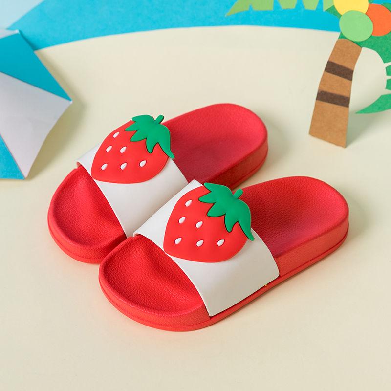 儿童拖鞋夏女童男童宝宝拖鞋儿童防滑家居室内可爱凉拖鞋软底小童
