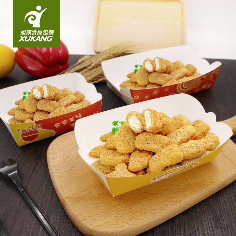 诚信定制章鱼小丸子盒 船盒餐盒 快餐小吃包装盒量大从优