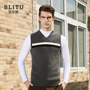 Golf clothing men's vest vest 2019 autumn and winter new sports casual sweater sweater golf men's clothing