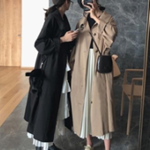 小玉酱风衣王2020新款韩版宽松流行大衣中长款百搭外套女-随心依依服饰-