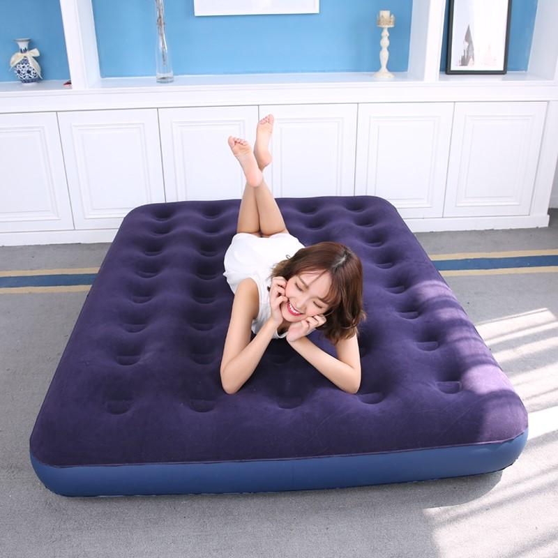 户外懒人便携充气沙发网红空气床垫野营折叠床气垫床单人双人1.8m