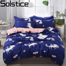 Solstice Home Textile Cartoon Polar bear Bedding Sets Childr