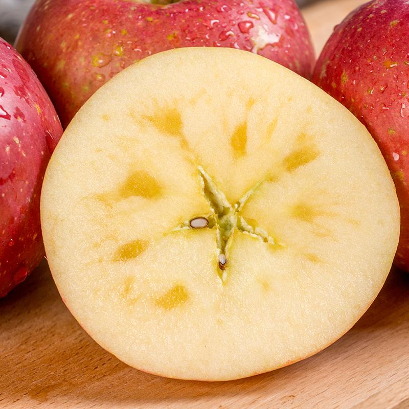 陕西野生冰糖心丑苹果水果新鲜10斤整箱现摘包邮应季红富士阿克苏