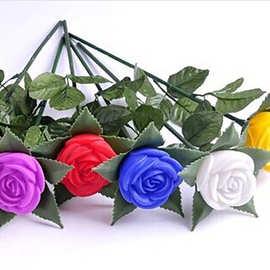夜光梦幻七夕情人节发光带枝玫瑰花玩具电动/遥控动物/人物中性