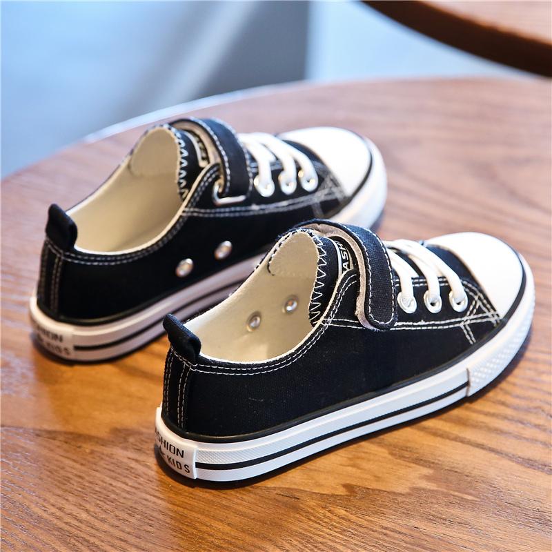儿童帆布鞋男童女童2020年春季新款韩版板鞋小童宝宝球鞋小白布鞋