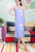 全棉成的超大号纱布浴巾1809ww12cm纯ou柔软吸水加大加厚。