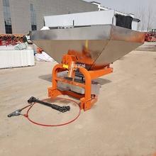 农业大型颗粒拖334机后置多mc不锈钢撒肥机后轴传。