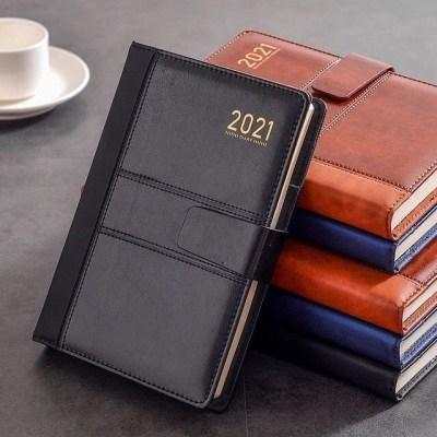 2021商务日程本365天年历日历本一天一页计划本效率手册工作新品