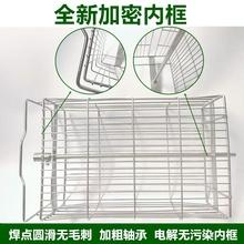 蜂旺摇蜜机加厚不锈钢(小)型家用封we12齿轮可gf工具