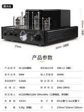家用胆机功放2.1音响发fr9级电子管lp书架组合音箱