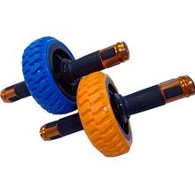 。新健腹轮腹肌轮收卷mo7滚轮专业sa轮运动健身器材家用实心